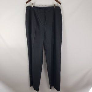 Jones New York // Classic Fit Plus Size Gray Pants